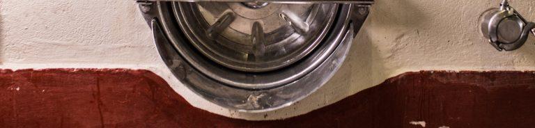 Dettaglio vasca in cemento